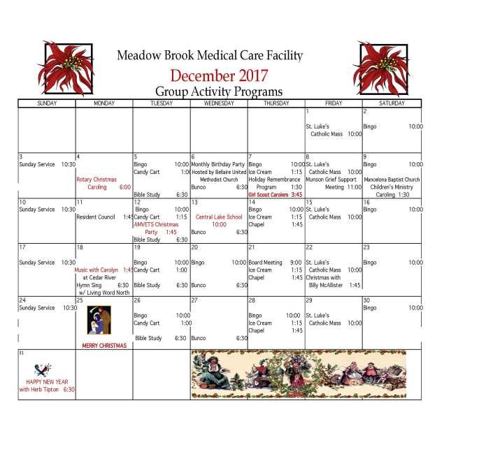 Meadow Brook December calendar 2017_Page_1